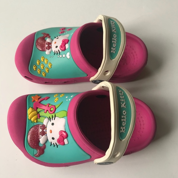 d75fbda39 CROCS Shoes | Hello Kitty | Poshmark